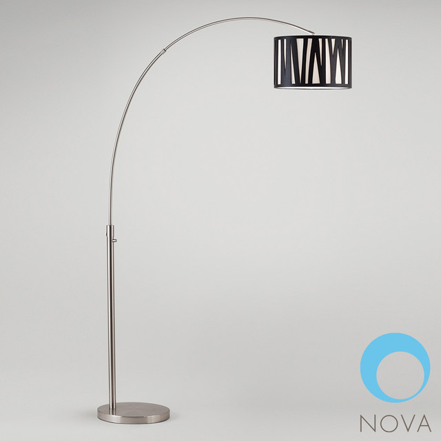 cortex arc floor lamp nova modern floor lamps los angeles by. Black Bedroom Furniture Sets. Home Design Ideas