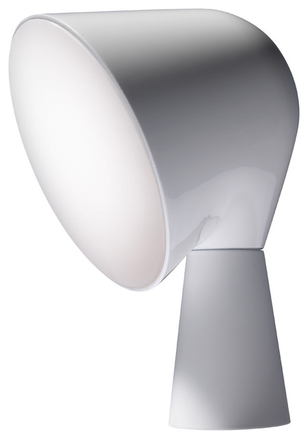 Binic table lamp by foscarini white contemporary table lamps by made in design - Lamp binic ...