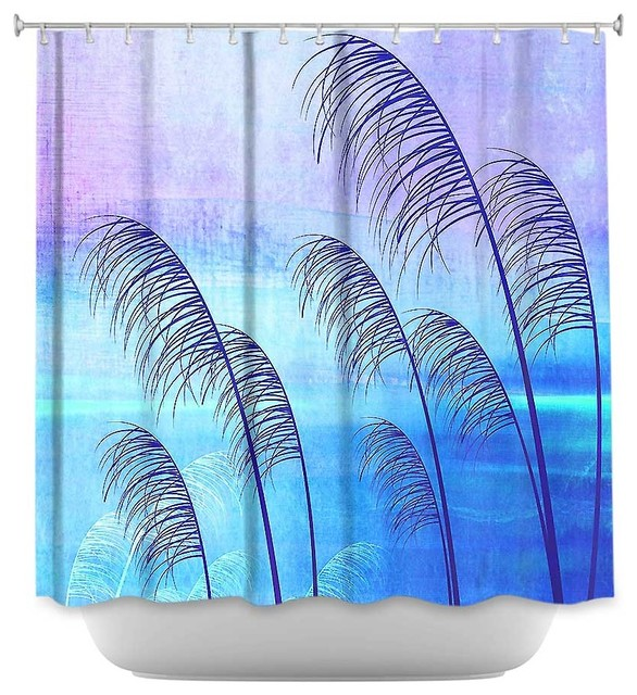 Curtains Ideas Tropical Print Curtains : Shower Curtain Unique From  DiaNoche Designs   Tropical Eclectic