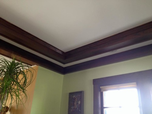 staining or painting oak trim in 1923 house/kitchen cabinets