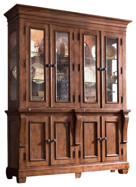 Kincaid Tuscano Solid Wood China Cabinet - Traditional - China Cabinets And Hutches - by Bedroom ...