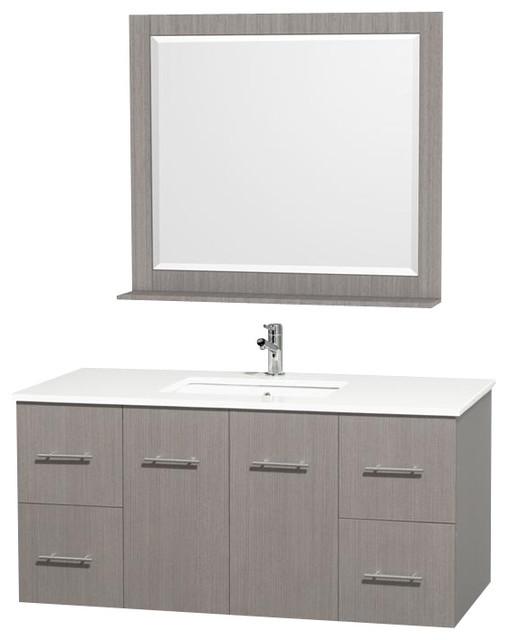 wyndham centra vanity bauhaus look waschtische von. Black Bedroom Furniture Sets. Home Design Ideas