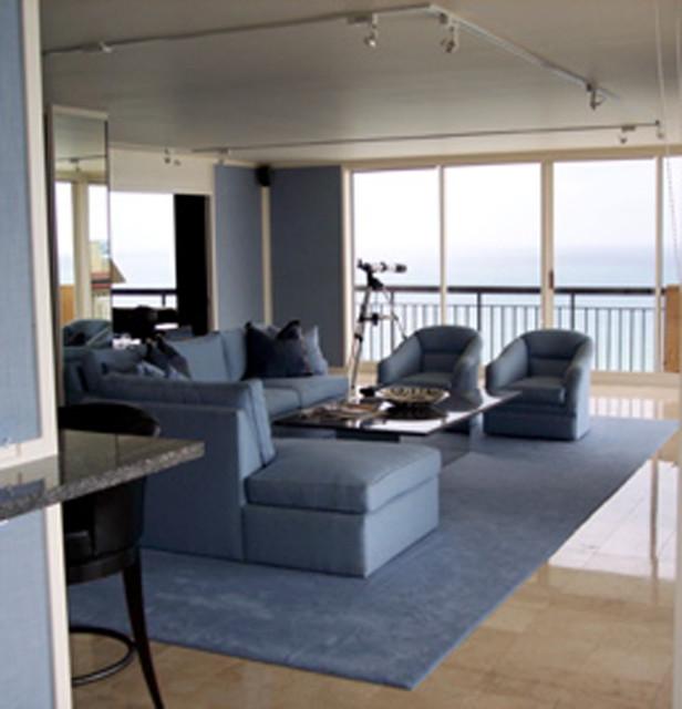 TRANSITIONAL Living Room Palm Beach Florida