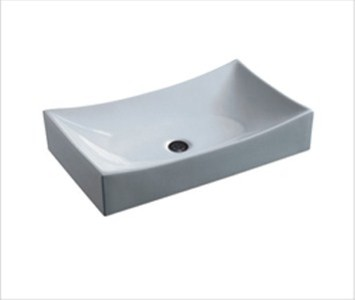 Small Vessel Sinks For Small Bathrooms : Bali - Small Porcelain Vessel Sink - Modern - Bathroom Sinks - by ...