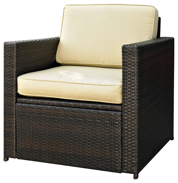 Palm Harbor Outdoor Wicker Chair Outdoor Lounge Chairs By Efurniture Mart