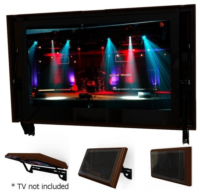 Flip Around TV Wall Mount - Modern - Home Electronics - other metro - by Hidden Vision TV Mounts