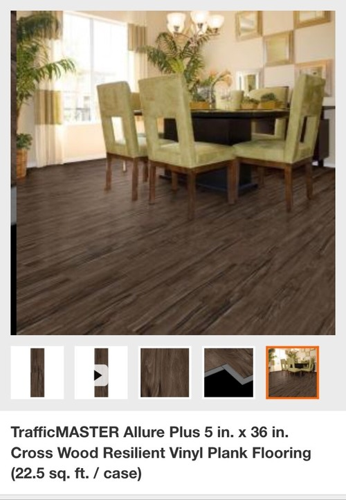 Urgent advice needed about allure vinyl flooring!