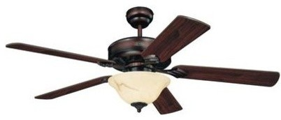Westinghouse Bethany 52 Reversible 5 Blade Indoor Ceiling Fan Rustic Fans