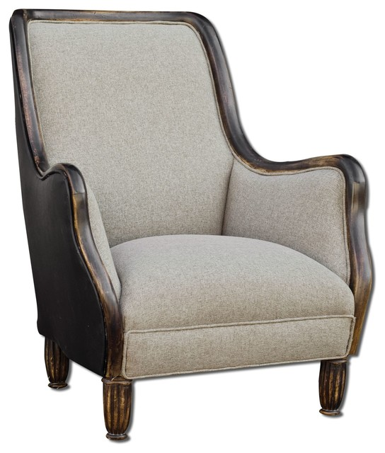 Conlin Armchair By Uttermost Transitional Armchairs And Accent Chairs S