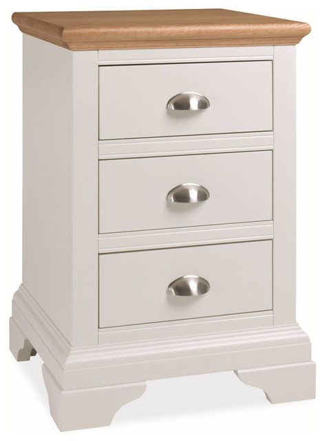 Bentley Designs Hampstead Two Tone Bedside Cabinet 3