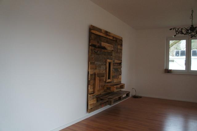 tv wand rustikal die neuesten innenarchitekturideen. Black Bedroom Furniture Sets. Home Design Ideas