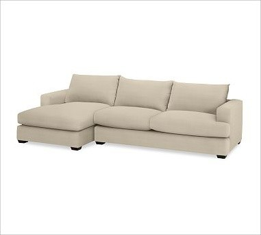 sofa with chaise sectional linen oatmeal traditional sectional sofas