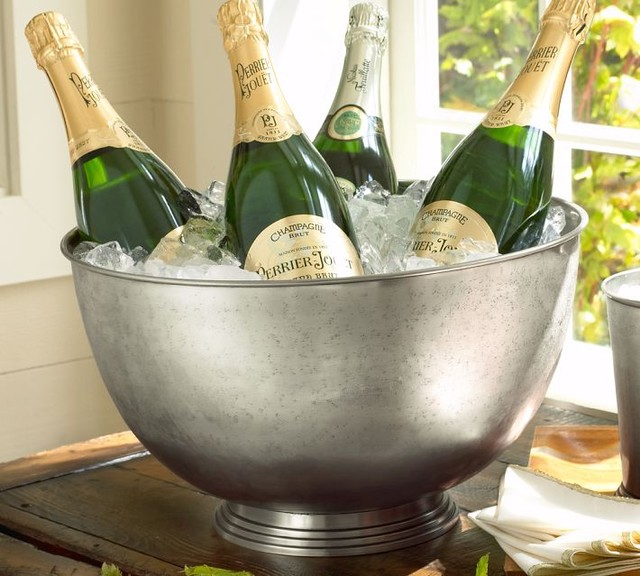 pottery barn champagne bucket 3