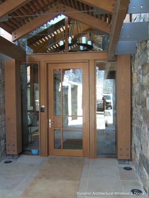 Rustic Custom Wood Entry Door Rustic Front Doors