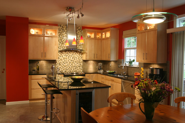 Kitchen Remodels Contemporary Kitchen Dc Metro By Nicely Done Kitchens