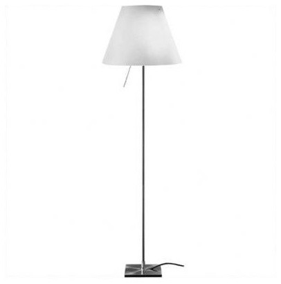 costanza floor lamp with dimmer modern floor lamps by lightology. Black Bedroom Furniture Sets. Home Design Ideas