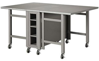 Martha Stewart Living Craft Space Collapsible Craft Table - Contemporary - Furniture - by Home ...