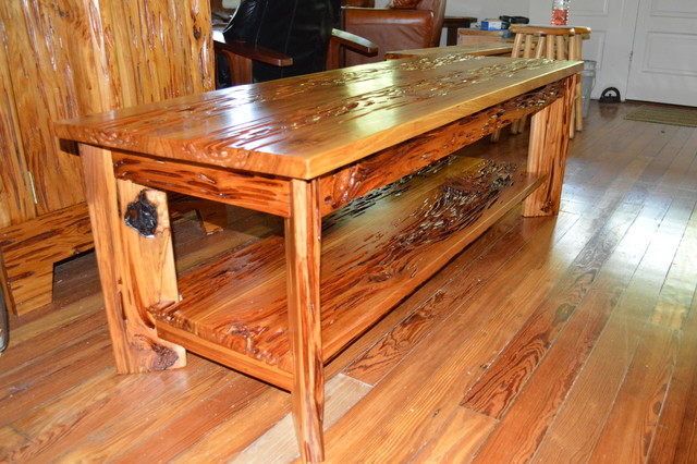Pecky Cypress Coffee Table