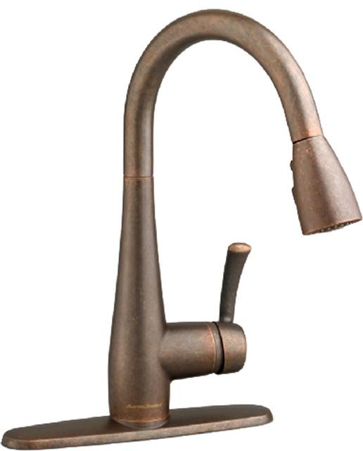 High Arc Kitchen Faucet, Oil Rubbed Bronze modern kitchen faucets
