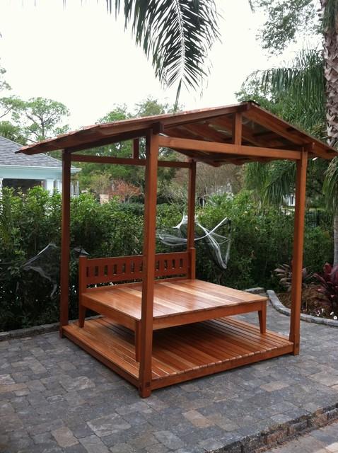Backyard Cabana Kits :   Exterior  Lawn & Garden  Outdoor Structures  Gazebos & Canopies