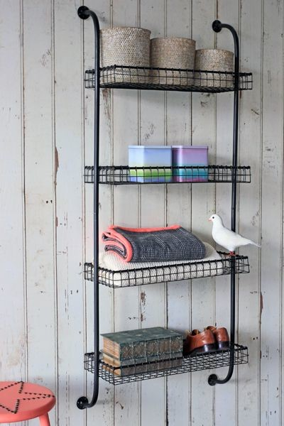 The Withington Wall Mounted Storage Unit - Industrial ...