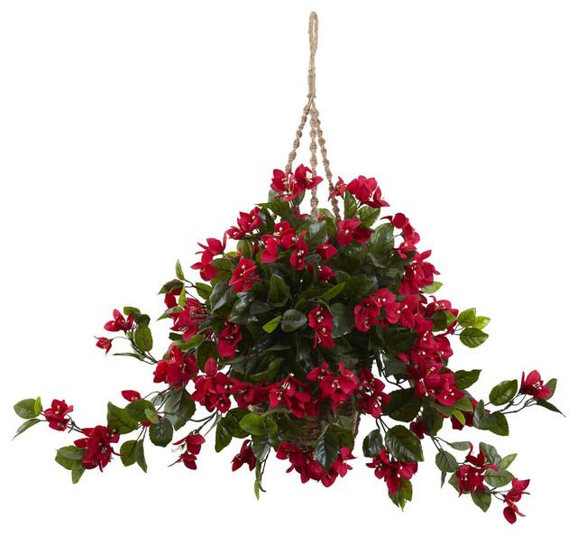 Bougainvillea Hanging Basket Uv Resistant Indoor Outdoor
