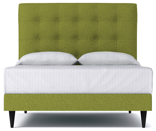 Palmer Drive Upholstered Bed From Kyle Schuneman Green Apple
