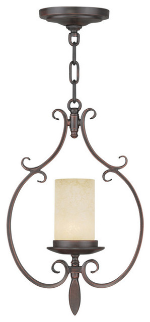 Livex Lighting 5480 58 Millburn Manor One Light Mini Pendant Pendant Ligh