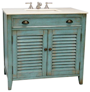 Abbeville Bathroom Sink Vanity Beach Style Bathroom Vanities And Sink Consoles By Chans