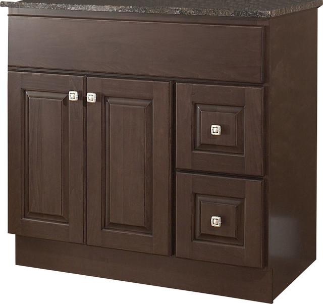 Jsi hampton bathroom vanity base 36 wood frame 2 door contemporary bathroom vanities and for 36 bathroom vanity left hand drawers