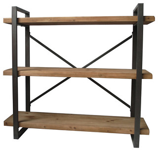 Lex Natural Shelf, 3 - Level