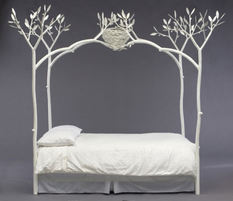 White Tree Bed Eclectic Beds By Shawn Lovell Metalworks