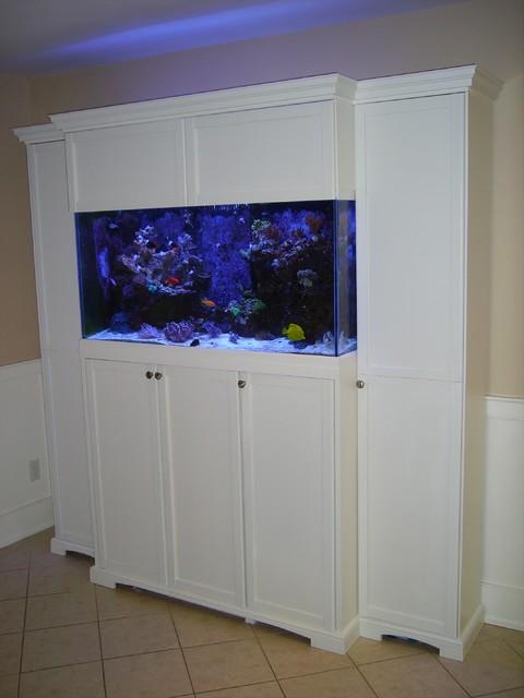 Aquarium cabinet for 90 gallon reef tank - Traditional ...