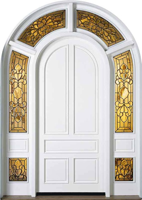 Jeld wen 435 paintable door with wraparound sidelights and - Jeld wen exterior doors with sidelights ...