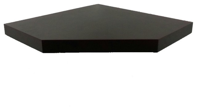 "... Shelf, 20"", Espresso - Modern - Display And Wall Shelves - by Welland"