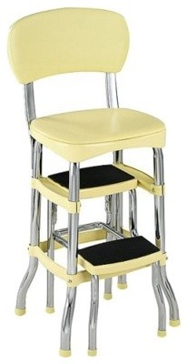Cosco Retro Chair With Step Stool Yellow Modern Baby