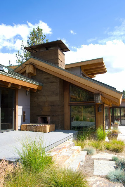 Truckee, California Home - Rustic - Exterior - san francisco - by Pella Doors and Windows of ...