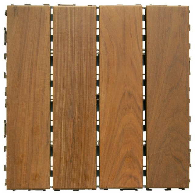 Ipe wood deck tiles 12 x12 contemporary deck tiles for How much does composite decking weigh