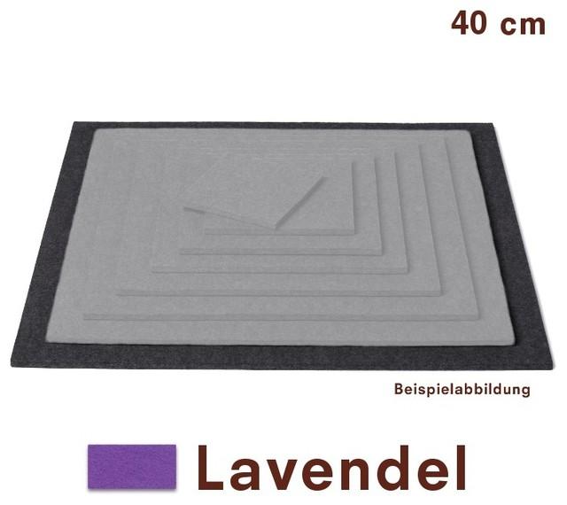 untersetzer quadratisch filz lavendel 40 x 40 cm hey sign bauhaus look tischsets. Black Bedroom Furniture Sets. Home Design Ideas