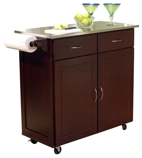 modern stainless steel top kitchen cart island espresso stainless steel work tables by john boos modern