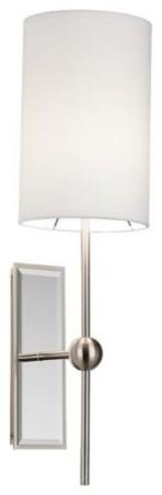 Possini Euro Design Mirrored Plug In Wall Light