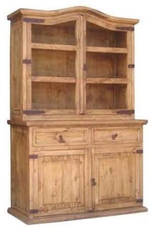 2 Pc Small China Cabinet traditional-china-cabinets-and ...