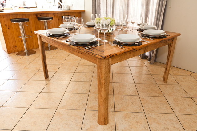 Extendable dining room table modern dining tables for Dining room tables perth