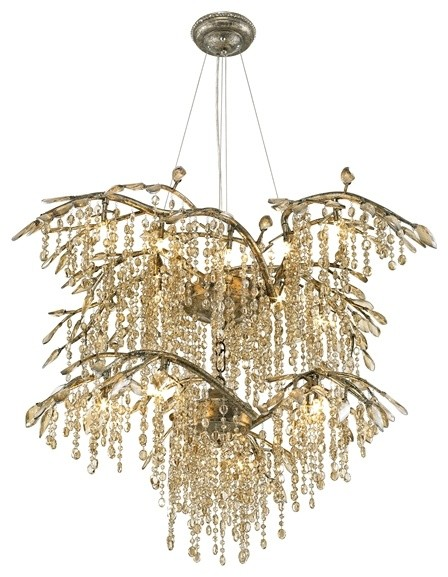 Golden Lighting Autumn Twilight Chandelier