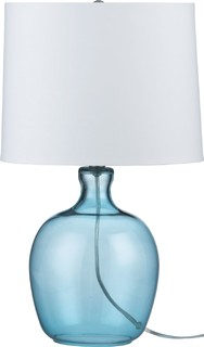 clarity blue table lamp contemporary table lamps by