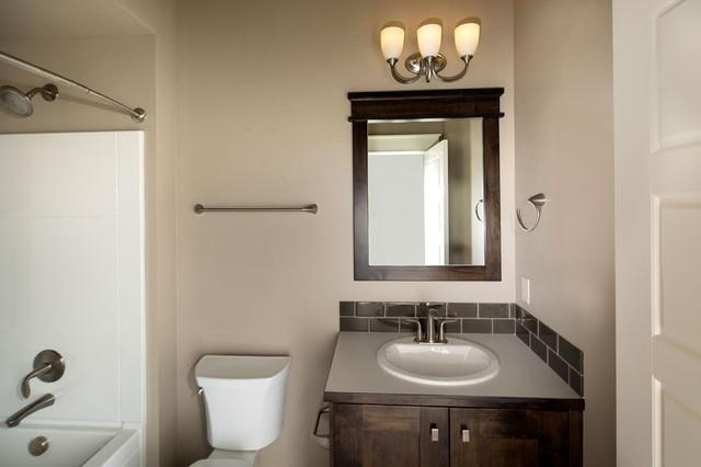 The guest bath craftsman bathroom boise by for Bath remodel boise
