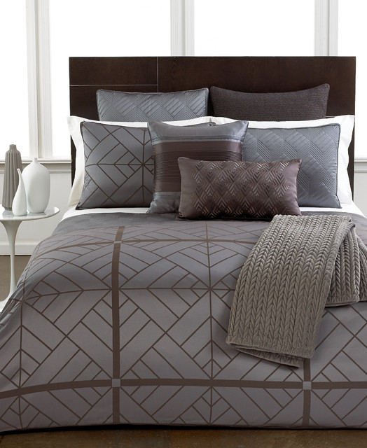 Hotel Collection Parquet Bedding Collection Contemporary By Hotel Collection