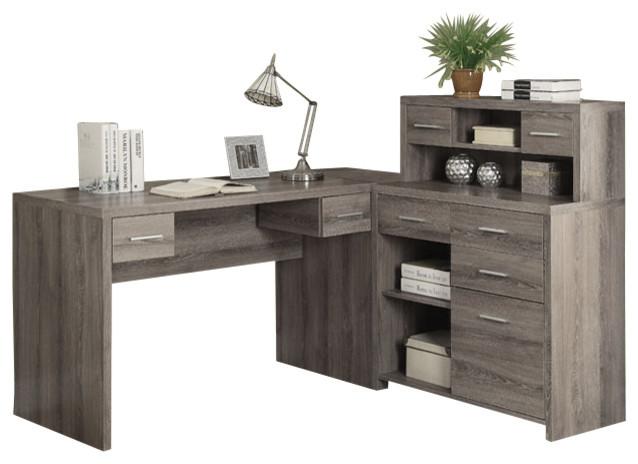 Ushape Desk Home Office Furniture page7
