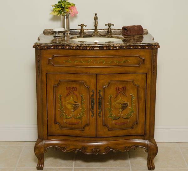 Antique bathroom vanities traditional bath products for Bathroom vanities los angeles
