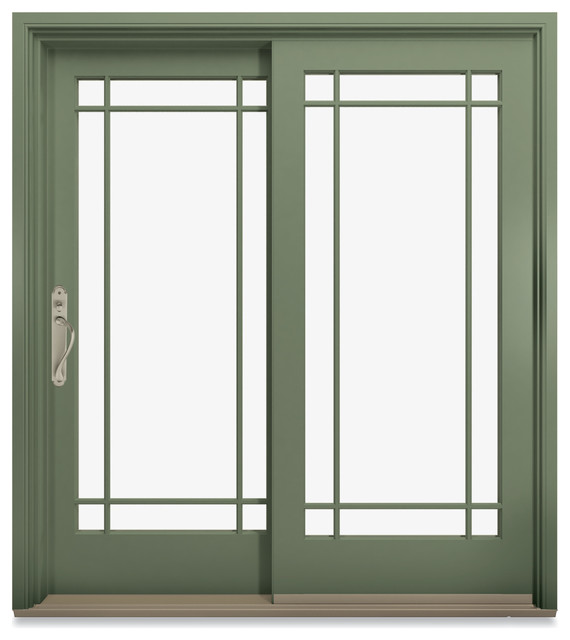 Marvin ultimate sliding french door contemporary patio for Sliding french doors for sale